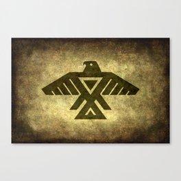 Thunder bird or Power bird Canvas Print
