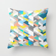 New Harlequin Throw Pillow