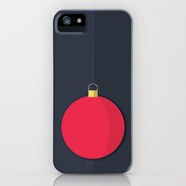 Christmas Globe - Illustration iPhone Case