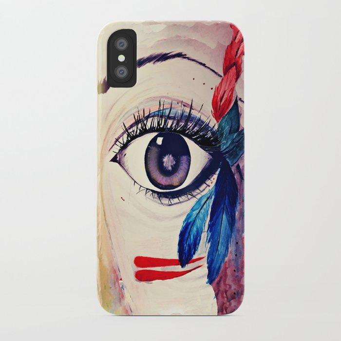 native american eye iPhone Case