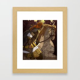Oromë the huntsman Framed Art Print