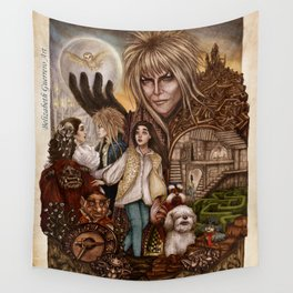 Labyrinth Tribute Wall Tapestry