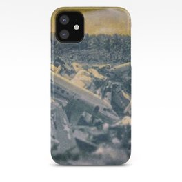 Salvage Airplanes - circa WWIIpsd - 66 of 479 iPhone Case