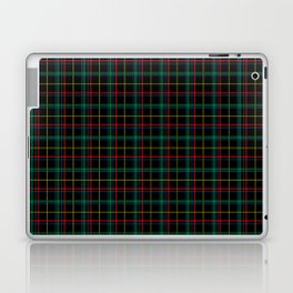 Red and green plaid Laptop & iPad Skin