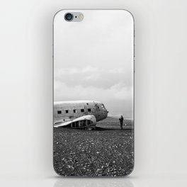 Iceland Plane Wreckage iPhone Skin