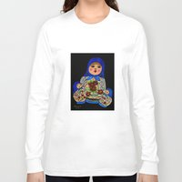 russian Long Sleeve T-shirts featuring Russian dolls by maggs326