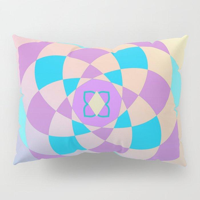 Mandal color wheel Pillow Sham