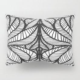Leaf Mirror Pillow Sham