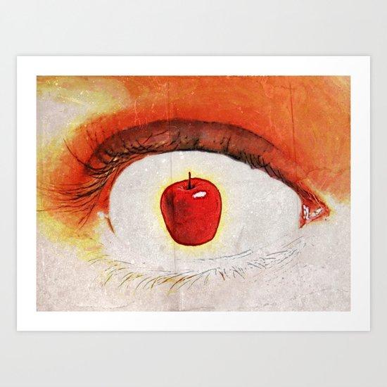 Apple of My Eye 000 Art Print