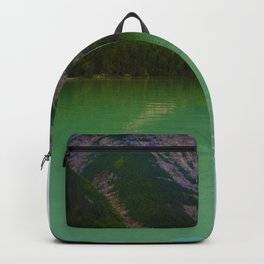 Kinney Lake in Mount Robson Provincial Park, British Columbia Backpack