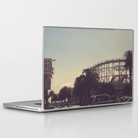 postcard Laptop & iPad Skins featuring postcard moments by Lewis Best