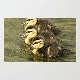 Three little ducks  Rug
