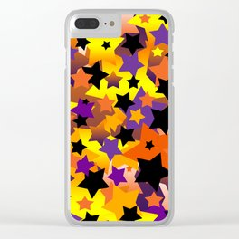 Halloween Star Crazy Clear iPhone Case