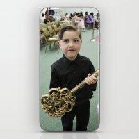 key iPhone & iPod Skins featuring Key by Faith Buchanan