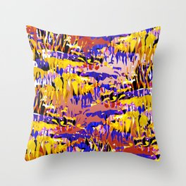 Stalactites I Throw Pillow