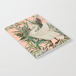 Romantic Swan Notebook