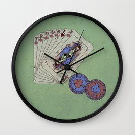 Hey boy, what's your game Wall Clock