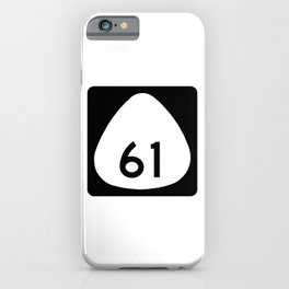 Hawaii Route 61 Shield iPhone Case