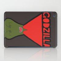 godzilla iPad Cases featuring Godzilla by evannave