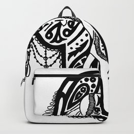 Hamsa elephant Backpack