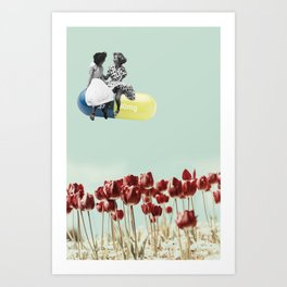 Chill Pill Art Print