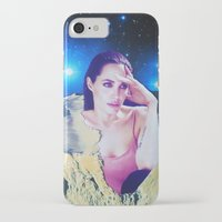 angelina jolie iPhone & iPod Cases featuring Angelina Jolie by John Turck