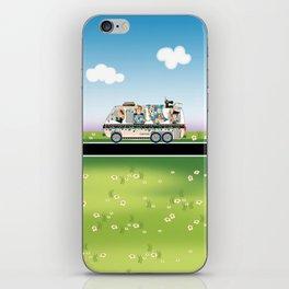 Quiltmobile iPhone Skin