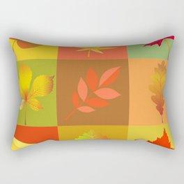 Leaves of fall Rectangular Pillow