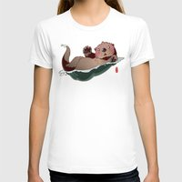 otters T-shirts featuring South by Jordan Lewerissa