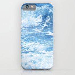 Blue Hawaiian Tropical Surf iPhone Case