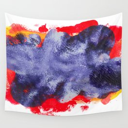 Splashing's Purple Ocean Wall Tapestry