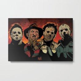 Horror Flick Metal Print