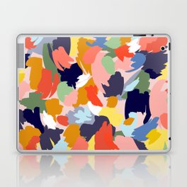 Bright Paint Blobs Laptop & iPad Skin