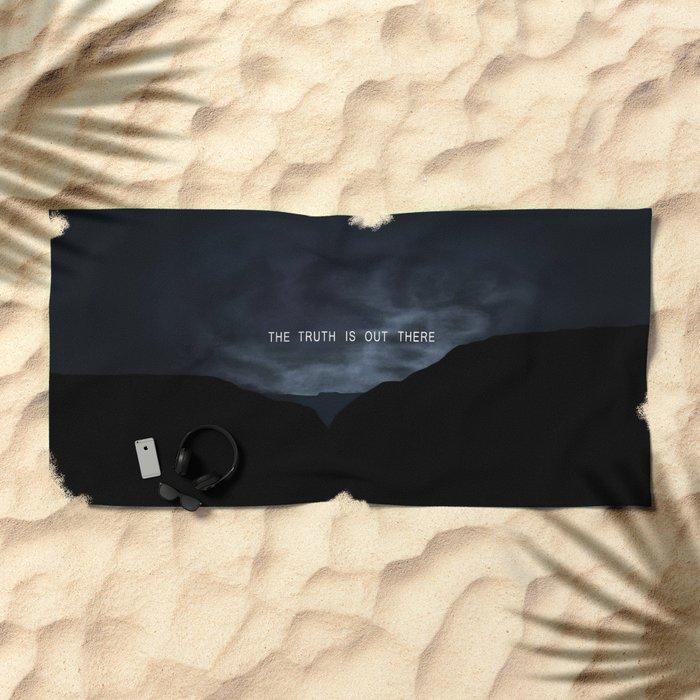 Truth. Beach Towel