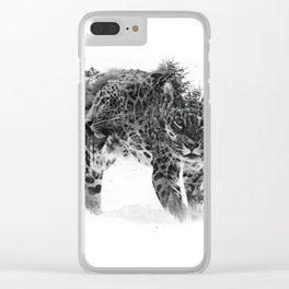 Leopard V1 Clear iPhone Case