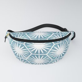 Watercolor daisy Fanny Pack