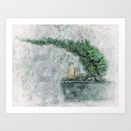 Bonsai Art Art Print