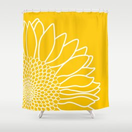 Sunflower Cheerfulness Shower Curtain