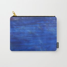 Denim Blue abstract watercolor background Carry-All Pouch