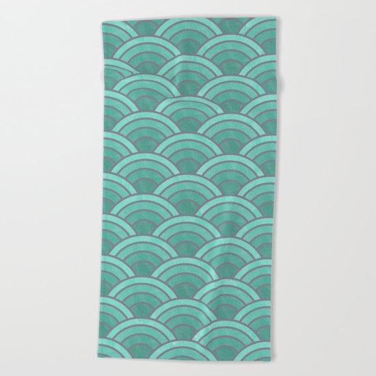 Lovely Pattern VII Beach Towel