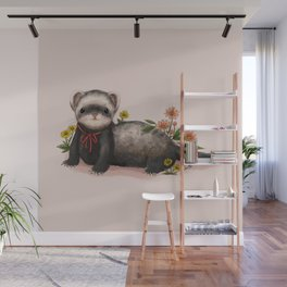 Little Ferret Wall Mural
