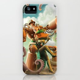 A Quiet Brunch at the Shrewsberry Circus iPhone Case