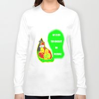 simpsons Long Sleeve T-shirts featuring Simpsons Moments by LylaLovitt