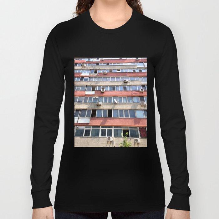 Bucharest #2 Long Sleeve T-shirt