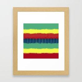 Tie Graphic Framed Art Print