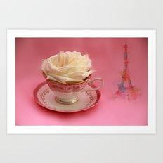 Dreams of Paris Art Print