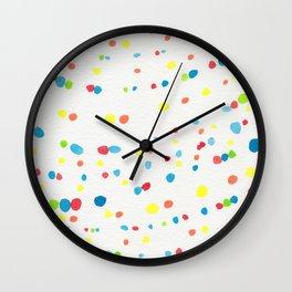 Dot Painting #society6 #buyart Wall Clock