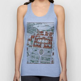 STANFORD CALIFORNIA University map Unisex Tank Top