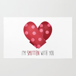 I'm Smitten With You Rug