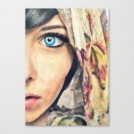 ' Blue Eye '   Canvas Print